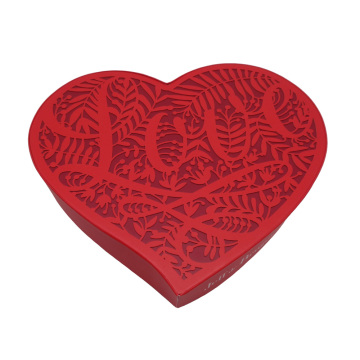 Hot sale for Large Heart Shaped Gift Box Cardboard Heart-shape Rigid Gift Box supply to Italy Manufacturers