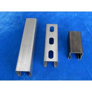 C shaped steel parts