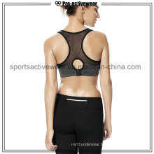 OEM 2016 Fashion New Charming Ladies Comfortable Sexy Mesh Sports Bra