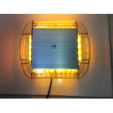Starker Magnet Dodge Schalter LED Bernstein Warnlichtbalken LED MINI Blitzlicht Magneten Blitzlicht Lichtbalken