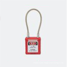 Yumo Brady Safety Lockout Wire Safety Padlock Bd-G44 with Key Alike or Key Differ