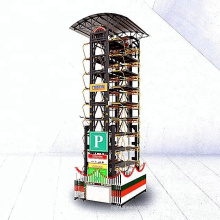 PLC control car parking system Intelligent automatic parking lift Rotary Parking solutions