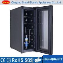 Refrigerador eléctrico del vino de la refrigeración vertical del estante vertical del aparato electrodoméstico 35L