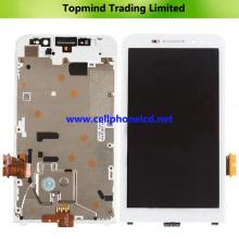 Piezas para Blackberry Z30 LCD con pantalla táctil con marco