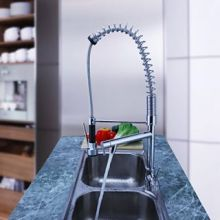 New European Kitchen Fold Down Faucet