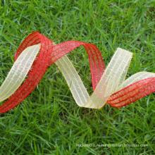 Экологичная лента органзы, декоративная лента сетки