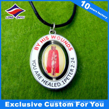 Cut out Rotatable Dog Tag