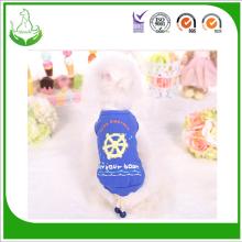 Wholesale Spring Summer Cotton Pet Clothes Sailor T-shirt Pet Clothes Dog