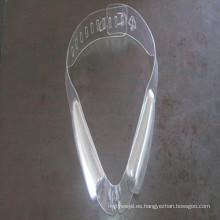 Película excelente del PVC del alto brillo de Processablilty para los accesorios de la ropa