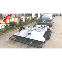 New style folding motorcycle trailer for double motorcycles