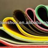 Water based iridescent pu leather for lady shoes