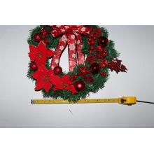 Guirlanda de Natal artificial de decoração de Natal