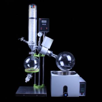 Manual lifting vacuum rotary evaporator with water bath