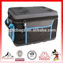 EVA moldeado puede refrigerador bolsas tapa dura con soporte para bebidas