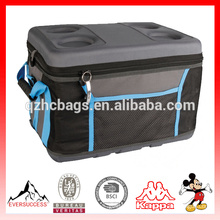 EVA Molded Can Cooler Bags Hard Top with Drink Holder