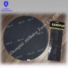 "16"" 40-320#aluminum oxide COARSE MESH Round abrasive screen sheet for vitrified tiles polishing"