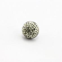 Porte-boucles d'oreille en perles en zircon en acier inoxydable en gros, jolies boucles d'oreilles pour filles