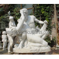 Piedra Mármol Figura Italiana Esculturas Estatua Chica para Jardín (SY-X1011)