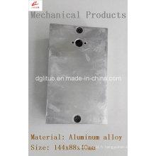 Couvercle de l'alliage d'aluminium utilisé dans l'éclairage et la machine à LED