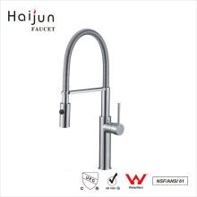 Haijun mayoristas China sola manija termostática de agua potable de cocina grifería