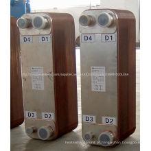 SWEP brasadas placa trocador de calor ZL200C