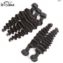 Cheveux vierges de trame de cheveux alignés de trame de cheveux alignés par vraie vraie cuticule de cheveux humains 100%