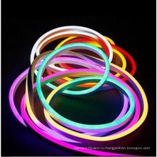 Более дешевые гибкие прокладки СИД RGB неоновый свет 2835 120leds 110v для наружной отделки