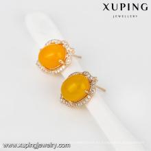 Pendiente de la moda de la joyería 93021-Xuping nuevo con el oro 18K plateado