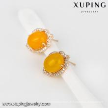 Brinco novo da forma da jóia 93021-Xuping com o ouro 18K chapeado