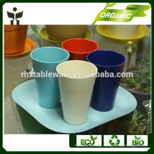 Copos e Pires Tipo de Copo Tipo e Respeito para o Ambiente Recurso copo de café de fibra de bambu