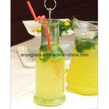 Certificado ISO 350ml 500ml Botellas de vidrio para bebidas