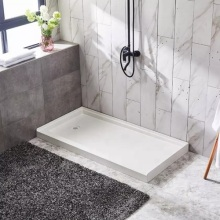 Plato de ducha antideslizante SMC para baño