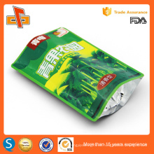 La reutilización reutilizable de calidad alimentaria china de alta calidad se para arriba el bolso ziplock reutilizable