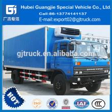 dongfeng 4 * 2 camión congelador 8MT 9MT 10MT 11MT 12MT refrigerador refrigerado furgoneta camión refrigerado for sale