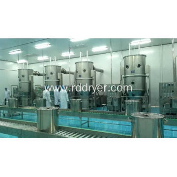 FL series Fluidized Granulator And Dryer in pesticide WDG industry
