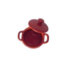 Mini cacerola de cerámica