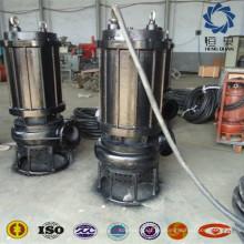 Abwasserbehandlungspumpe tauchfähige großformatige kleine Zementpumpe für Unterwassersand