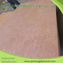 Una vez caliente presione la madera contrachapada comercial de 5m m Uty del grado de Linyi
