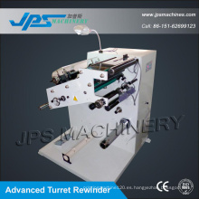 Jps-320fq-Tr Tejido Conductivo / Rebobinador de Cortadora de Tela