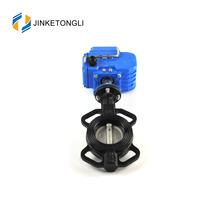 "JKTLED016 industrial ductile iron 10 ""butterfly valve"
