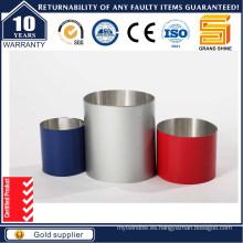 Anodizado Sliver Tubo de Aluminio Blanco / Tubo de Aluminio