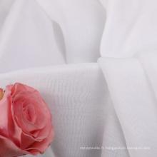 Tissu en nylon tencel teint en stock pour chemise