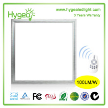 3 year warranty CRI>80 PF>0.95 600x600cm Led Flat Panel Light with UL CE approval
