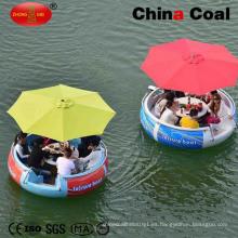 2.5 m de agua 8 personas Barco de ocio Barco de parque de atracciones