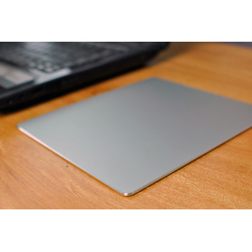 Universal Aluminum mouse pad silver color