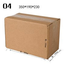 ODM for Corrugated Carton Box natural brown carton box export to Italy Manufacturers