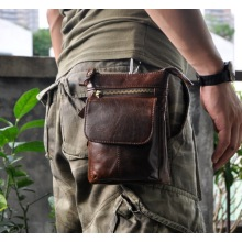 Moda quadril Fanny Pack Mens Hip Bag Belt