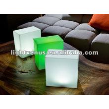 Bar / Festa / Casamento / Evento Cubo de Assento LED