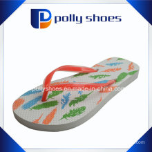 Womens Bermuda Thong Sandals Flip Flop Orange White
