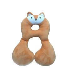 Plush Fox Baby Cushion